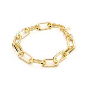 Bracelet fantaisie Chaîne Maille Dorée | MYA-BAY