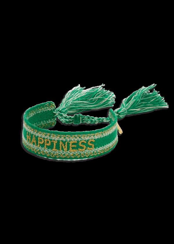 Bracelet fantaisie Tissé Vert | MYA-BAY