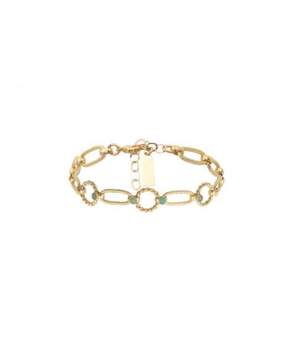 bracelet gaby emeraude