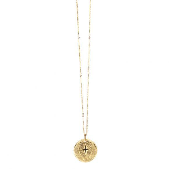 Collier Double Médaille Eclat   LOVELY DAY