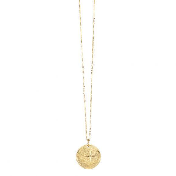 Collier Double Médaille Etoile | LOVELY DAY