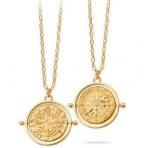 Collier Médaille Deux Faces | MYA-BAY
