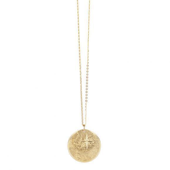 Sautoir Etoile Double Médaille | LOVELY DAY