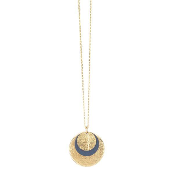 Sautoir Etoile Triple Médaille   LOVELY DAY