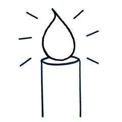 motif bougie kit punch needle fabrication française idée cadeau première communion