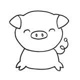 punch needle cochon