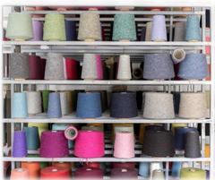 cônes laine recyclée