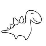punch needle garçon dinosaure cadeau