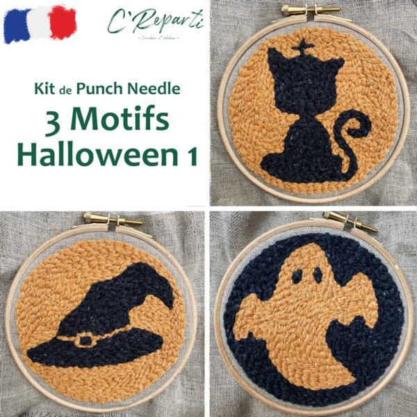 kit-punch-needle-halloween-chapeau-sorcière-chat-chapeau