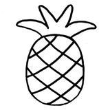 punch needle kit ananas déco ado tendance