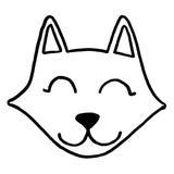 kit punch needle chat loup renard pour enfant c reparti