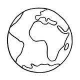 planète terre activité manuelle enfant