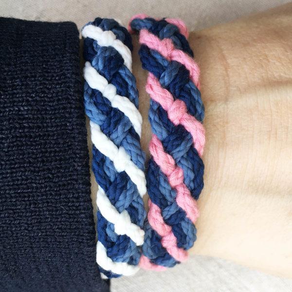 bracelets hortensia macrame creparti zero dechets upcycling 8ae34330 092b 488b a01e 268238f75589