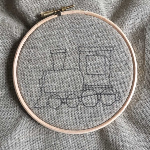 dessin locomotive facile