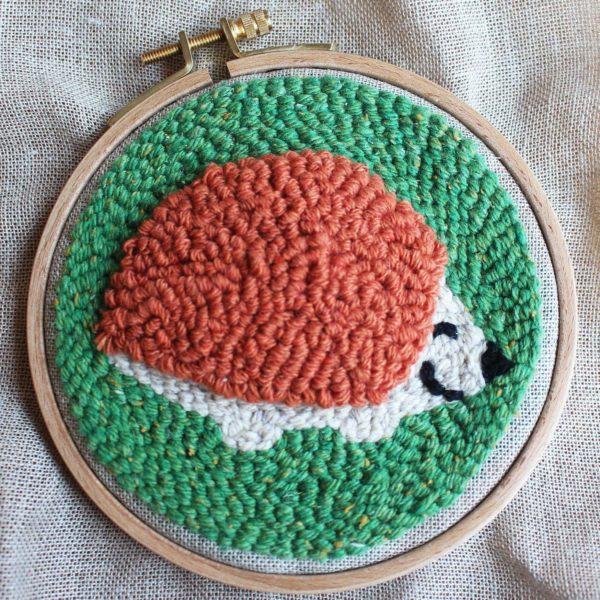 herisson punch needle fabrique en france circulaire solidaire cadeau enfant 1 1678bb60 1ced 413e b715 dcf34e7dbb75