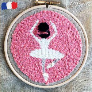 Kit Punch Neede 1 Motif Divine la Ballerine
