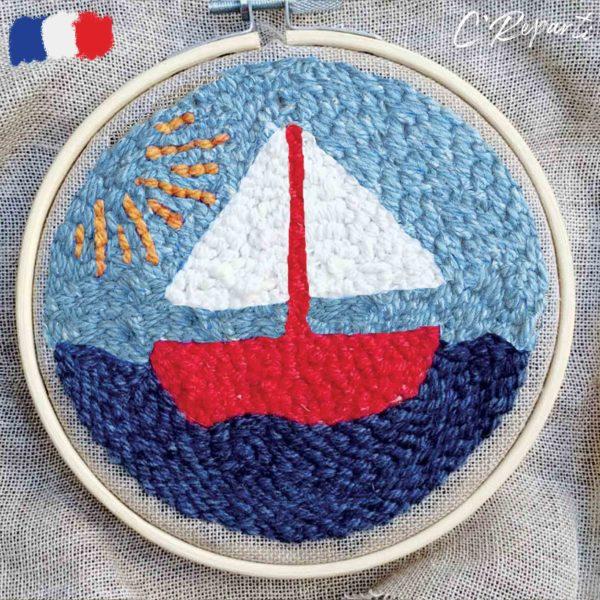 kit punch needle bateau
