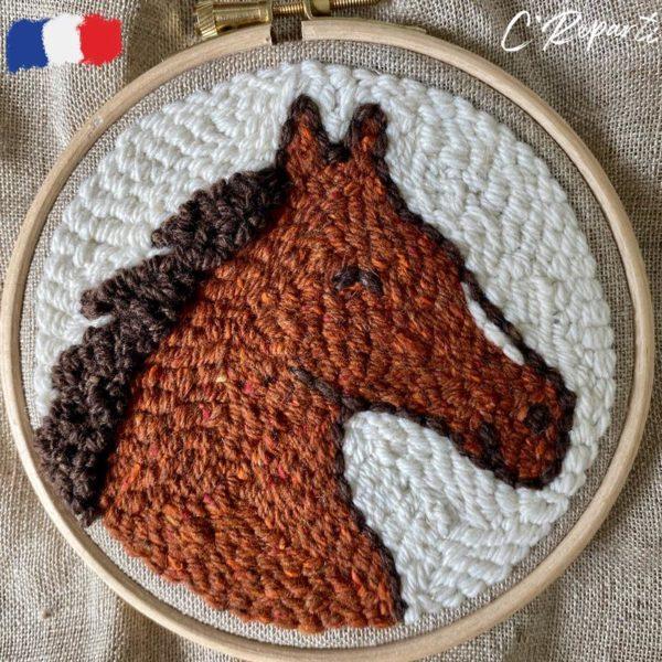 kit punch needle cheval e862f9cb 477d 42f6 88cd e9db5c3b80a1