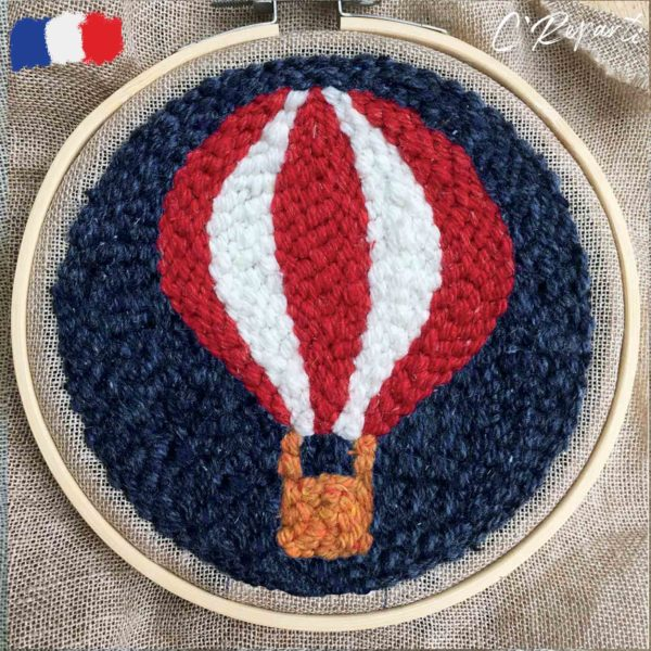 kit punch needle montgolfiere