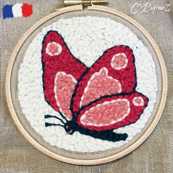 kit punch needle papillon 17cea6f4 31fc 430a 94a5 54c3bc089e0a 1