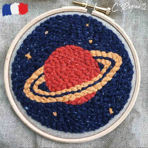 kit punch needle planete saturne d7e9c458 e3ad 41bf 9bf5 557de3b66bfc