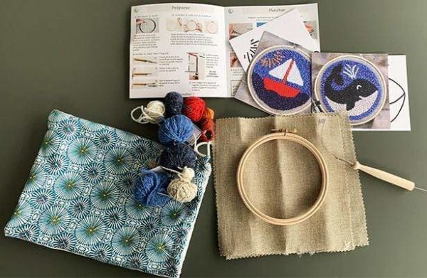kit punch needle complet