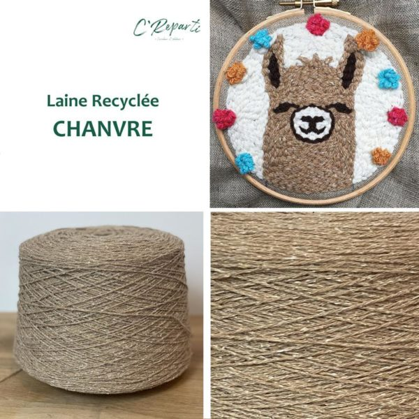 laine recyclee chanvre