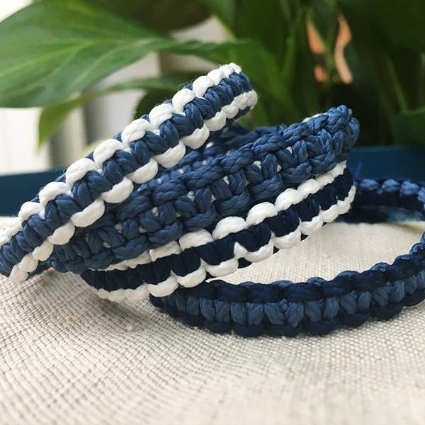 bracelets macramés