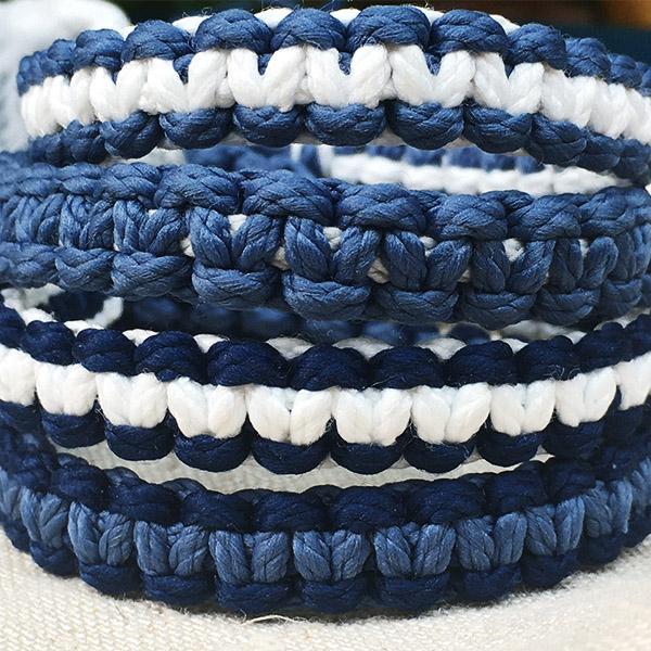 ocean kit bracelets macrame C Reparti bouteilles plastiques recyclees 3