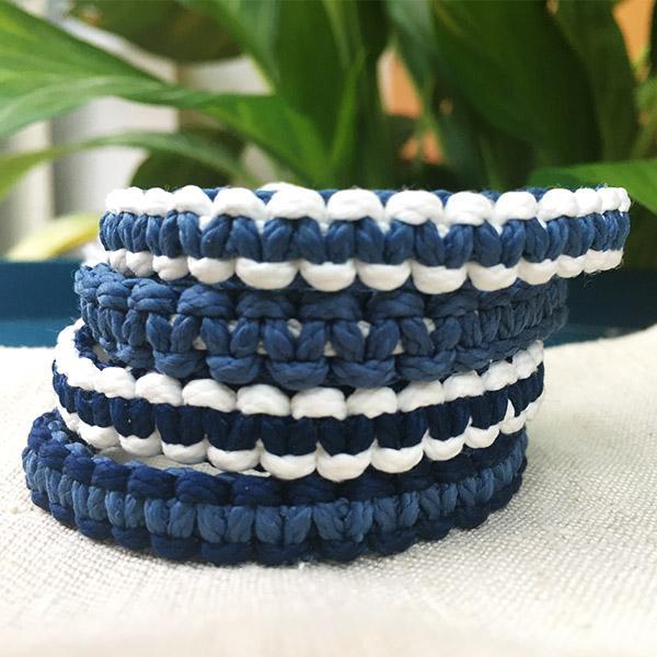 ocean kit bracelets macrame C Reparti bouteilles plastiques recyclees 4