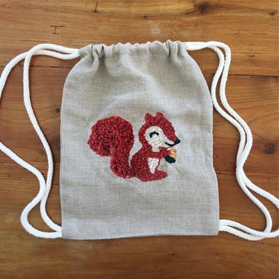 sac a dos ecureuil