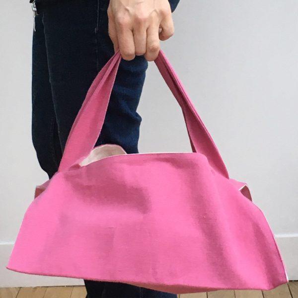 sac a tarte en tissu upcycle durable solidaire