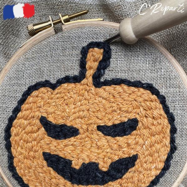 halloween citrouille couleur logo etape 3