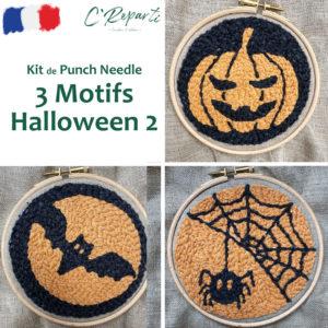 kit 3 motifs halloween 2