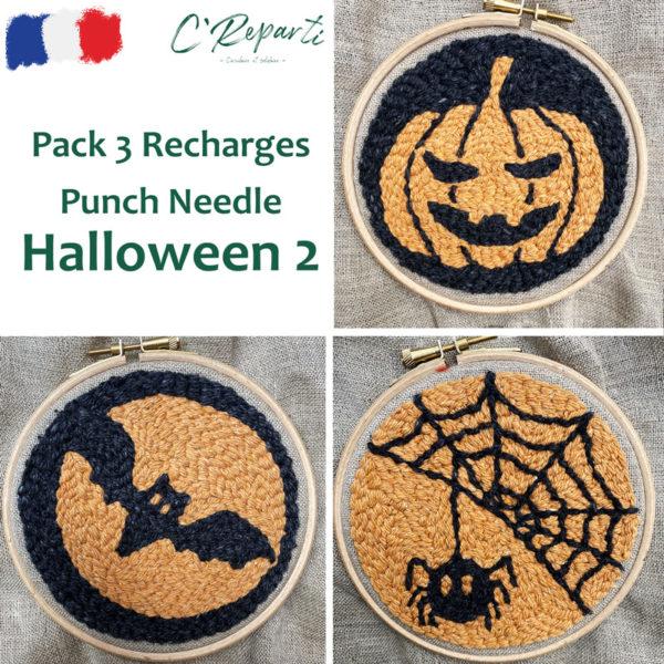 pack 3 recharges halloween 2