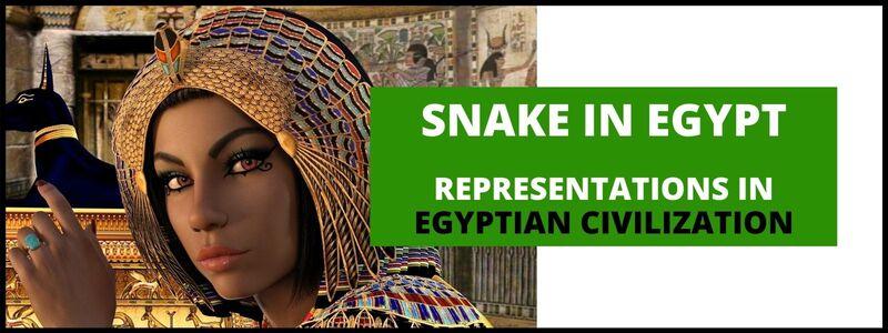 Snake in Egypt