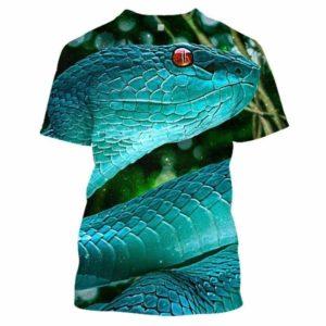 3d snake shirt
