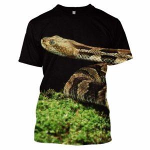 snake shirt curious animal