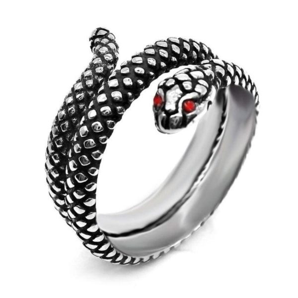 antique-ruby-snake-ring 1