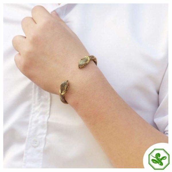 celtic snake bracelet for men
