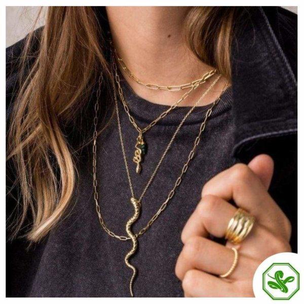 Antique Snake Necklace 2