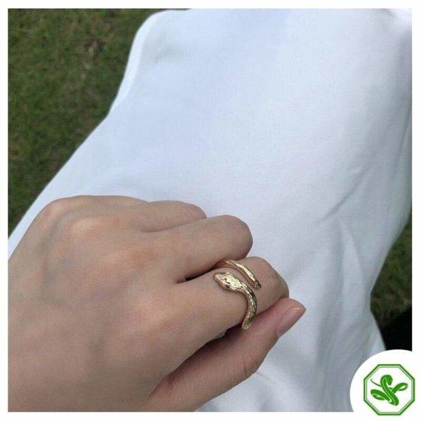 Antique Snake Ring 4