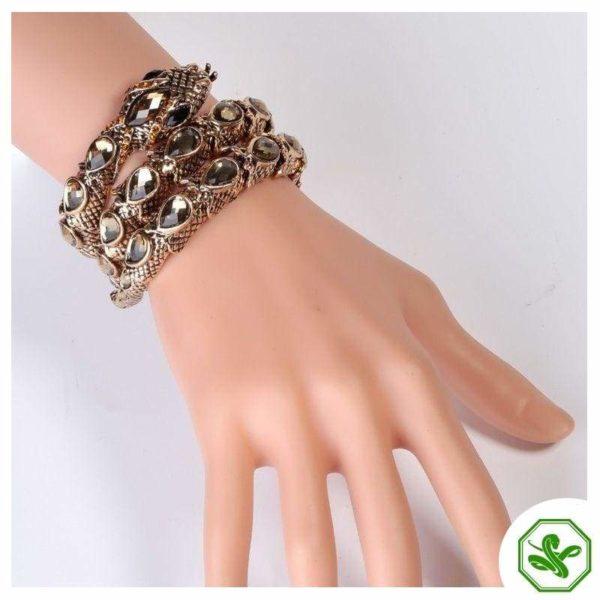 snake wrist bracelet