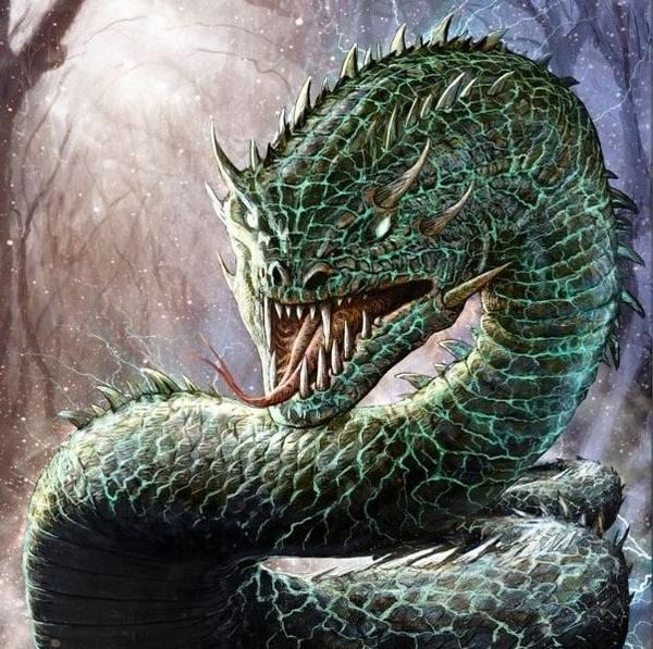 Basilisk Snake