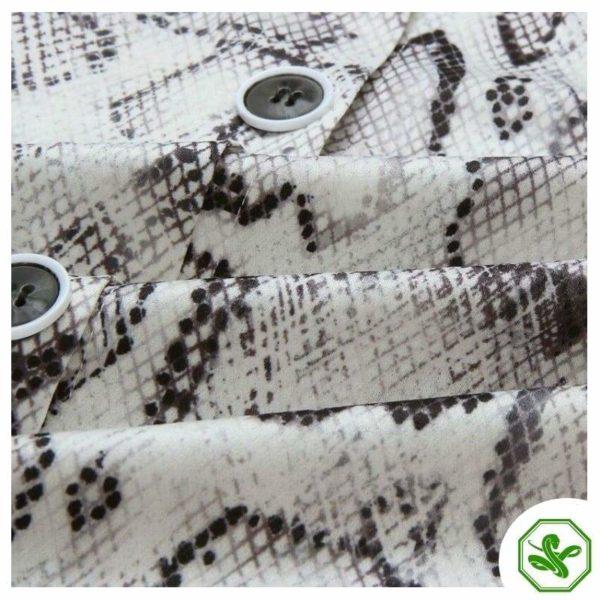 Black And White Snakeskin Dress 5