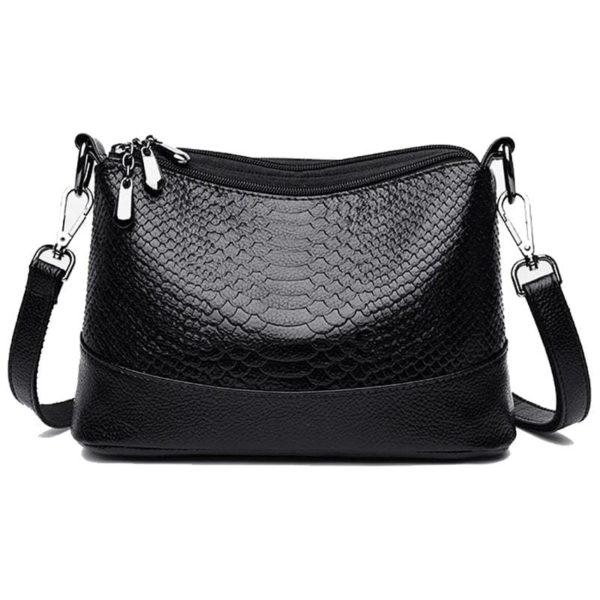 black python bag