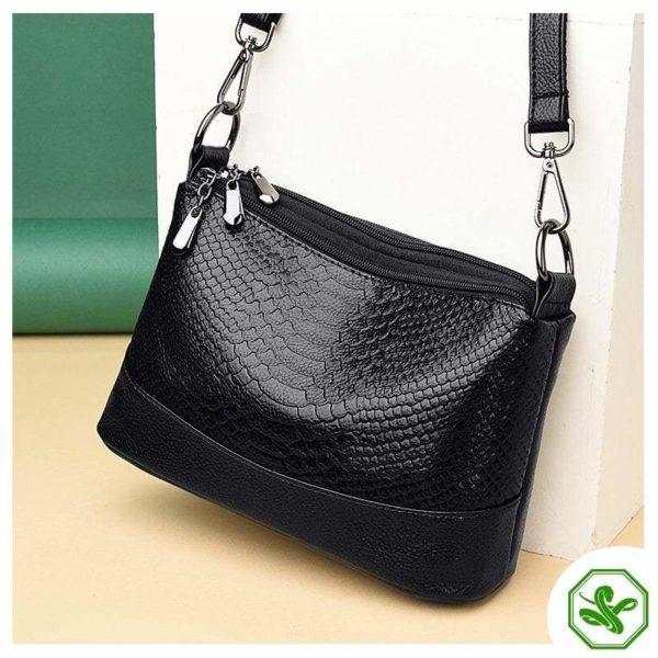 black python bag for woman