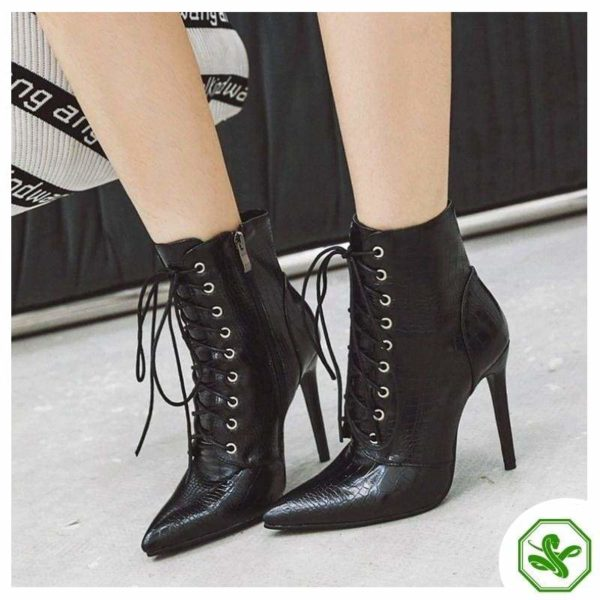 black snake boots for woman
