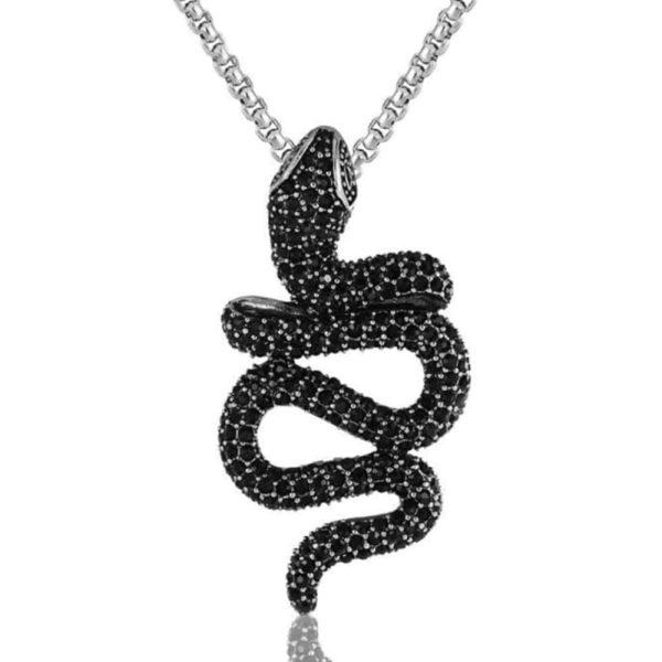 Black Snake Necklace