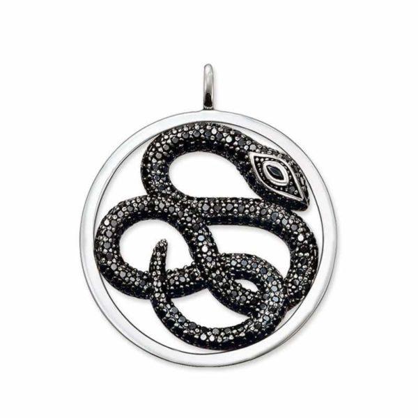 black snake pendant
